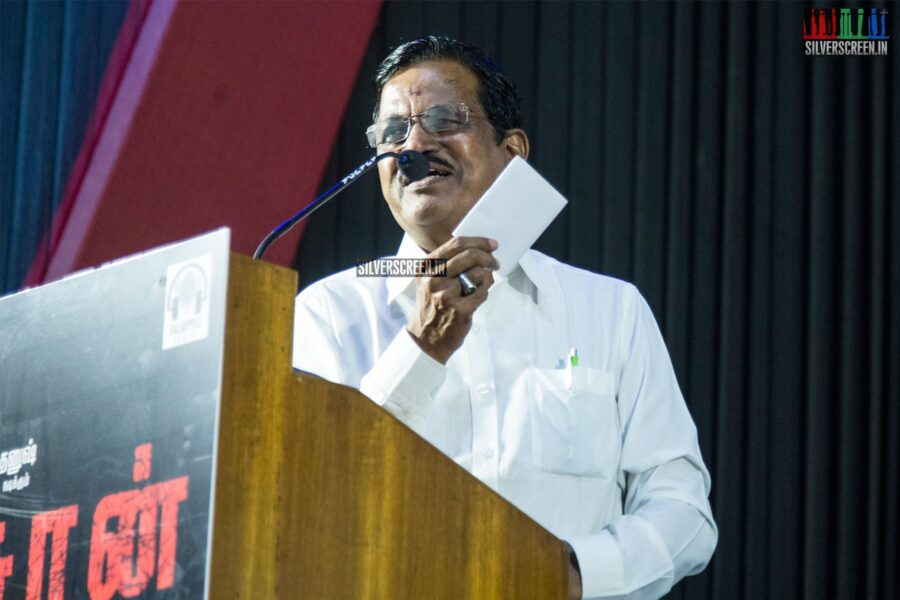 Kalaipuli S Thanu At The 'Asuran' Audio Launch