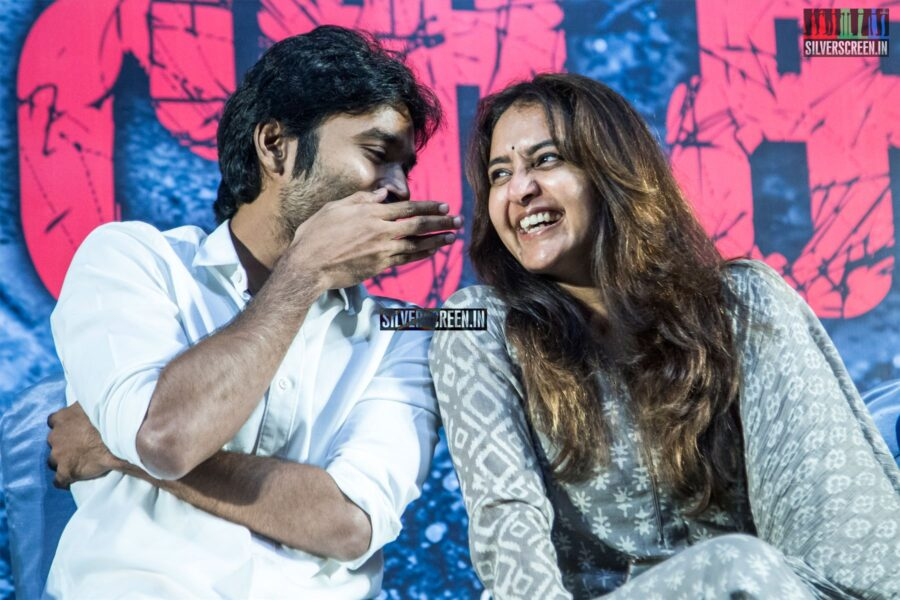 Dhanush, Manju Warrier At The 'Asuran' Audio Launch