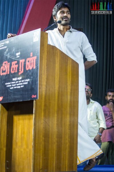 Dhanush At The 'Asuran' Audio Launch