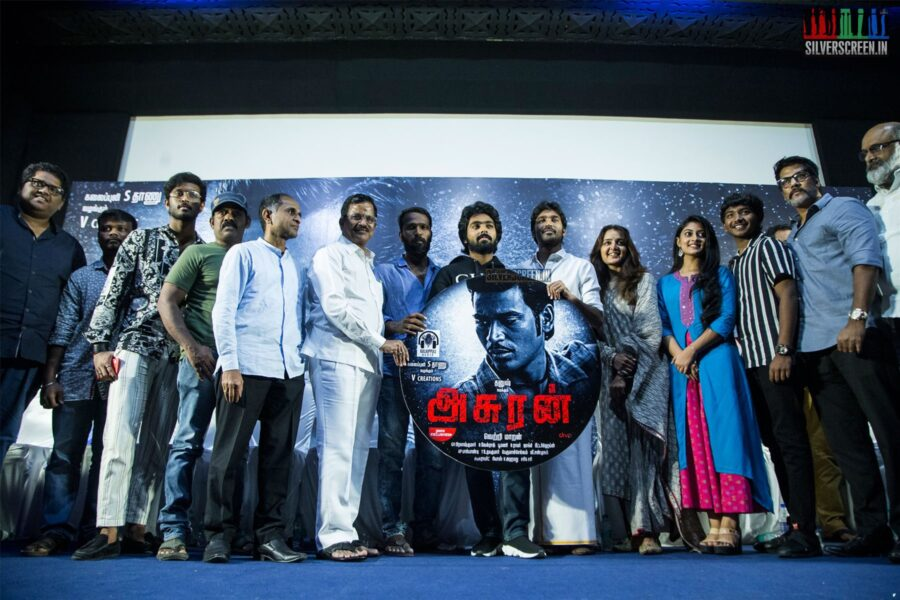 Celebrities At The 'Asuran' Audio Launch