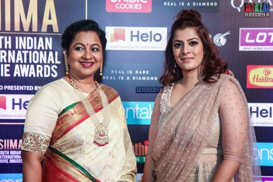 Radhika, Varalaxmi At The 'SIIMA Awards - Day 2'