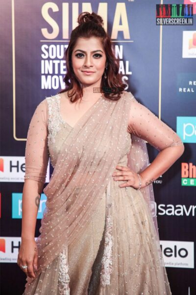 Varalaxmi At The 'SIIMA Awards - Day 2'
