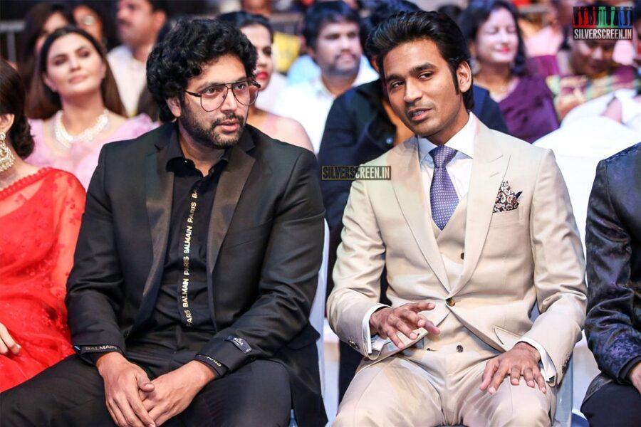 Dhanush, Jayam Ravi At The 'SIIMA Awards - Day 2'