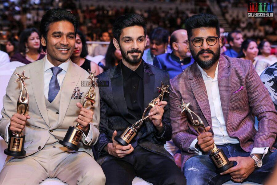Dhanush, Anirudh, Vijay Yesudas At The 'SIIMA Awards - Day 2'