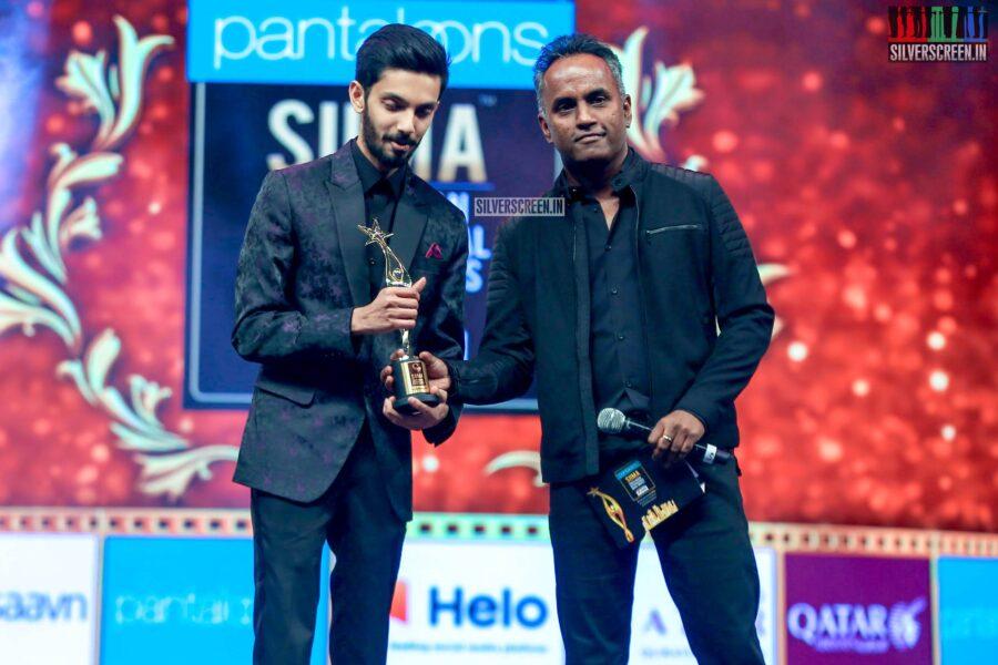 Anirudh At The 'SIIMA Awards - Day 2'