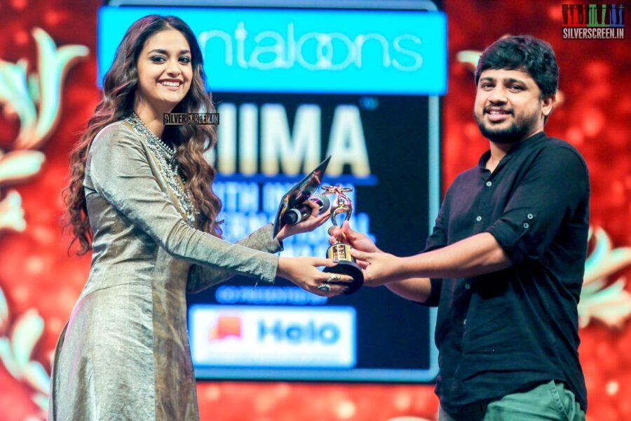 Keerthy Suresh At The 'SIIMA Awards - Day 2'