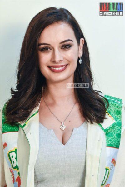 Evelyn Sharma Promotes 'Saaho'