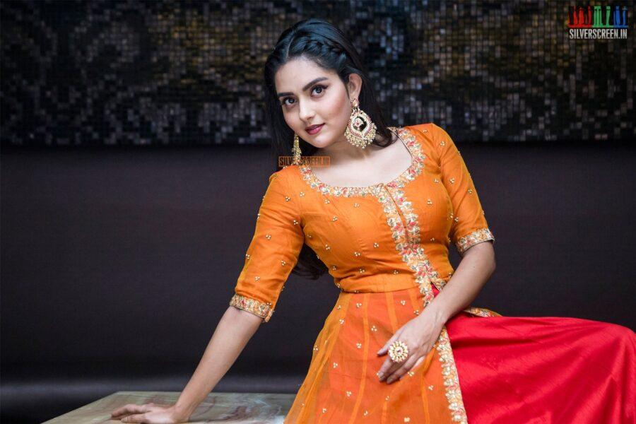Mahima Nambiar At The 'Ayngaran' Audio Launch