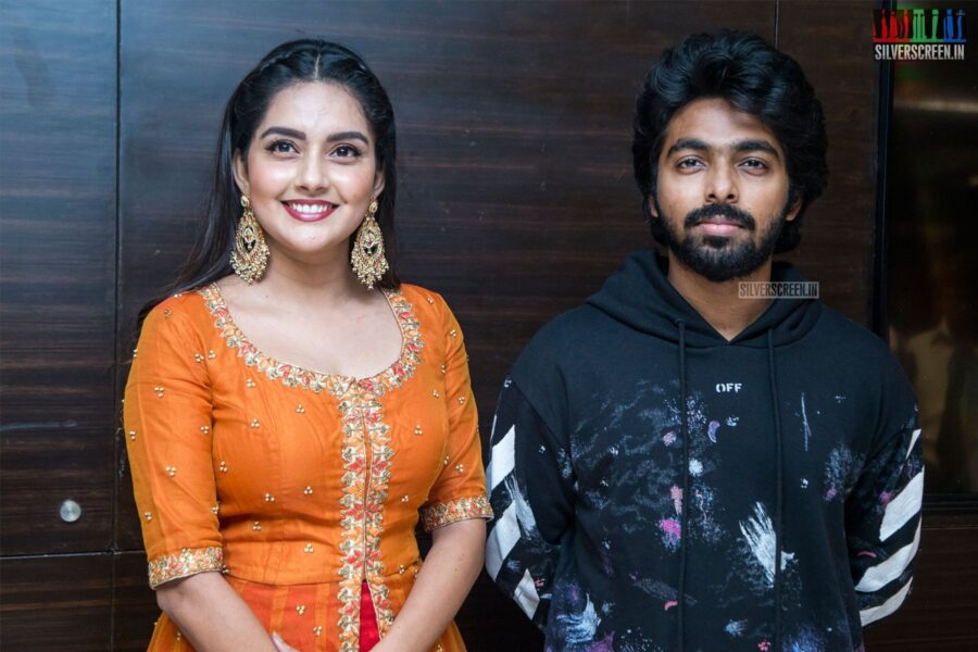 GV Prakash Kumar, Mahima Nambiar At The 'Ayngaran' Audio Launch