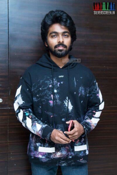 GV Prakash Kumar At The 'Ayngaran' Audio Launch
