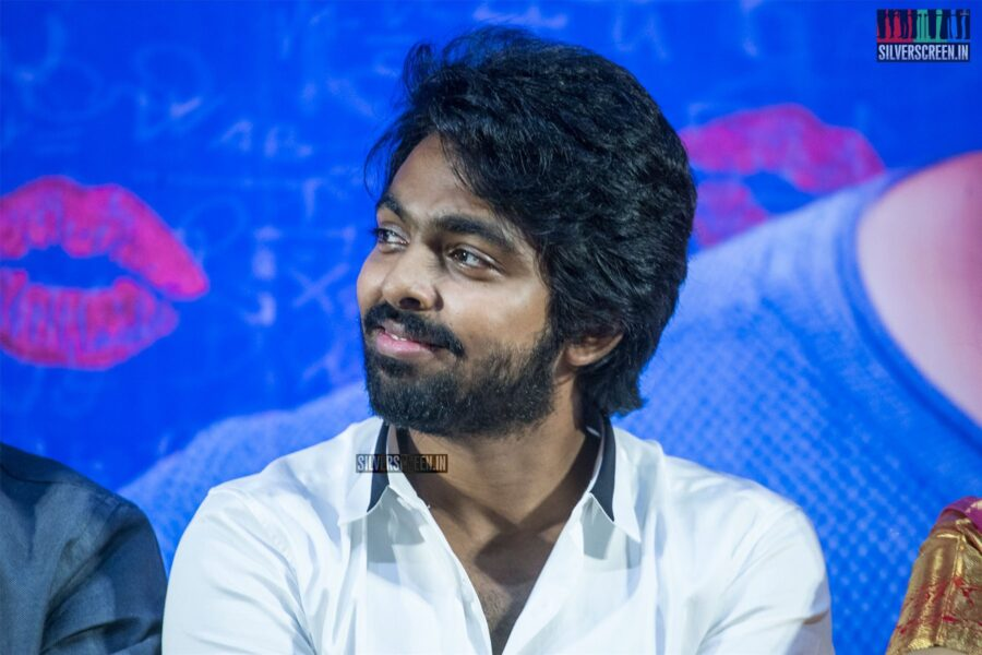 GV Prakash Kumar At The '100% Kadhal' Audio Launch