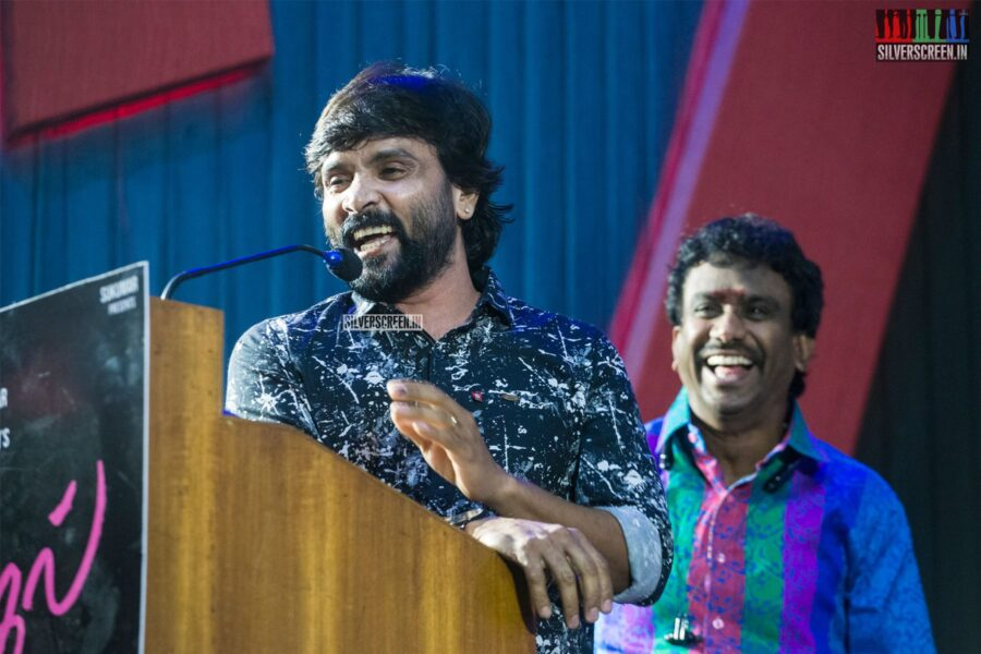 Snehan At The '100% Kadhal' Audio Launch