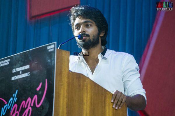 GV Prakash Kumar At The '100% Kadhal' Audio Launch