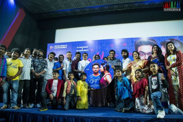 Celebrities At The '100% Kadhal' Audio Launch