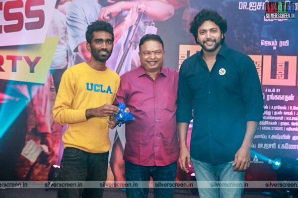 Jayam Ravi, Pradeep Ranganathan At The 'Comalai' Success Meet