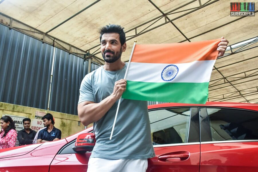 John Abraham At The Batla House Press Meet