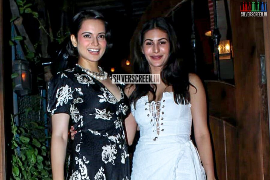 Kangana Ranaut, Amyra Dastur At The 'Judgemental Hai Kya' Success Bash