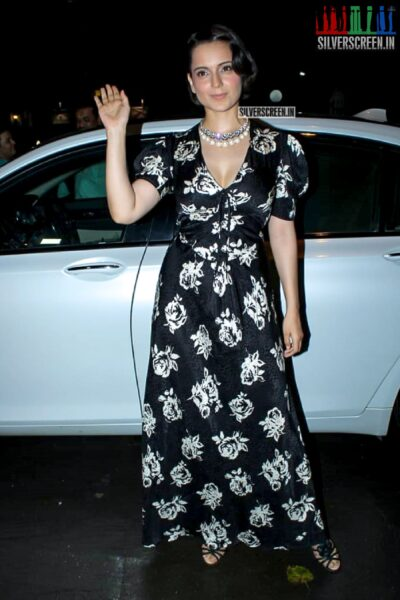 Kangana Ranaut At The 'Judgemental Hai Kya' Success Bash