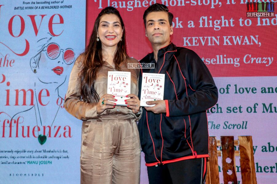 Karan Johar At The 'Love In The Time Of Affluenza' Book Launch
