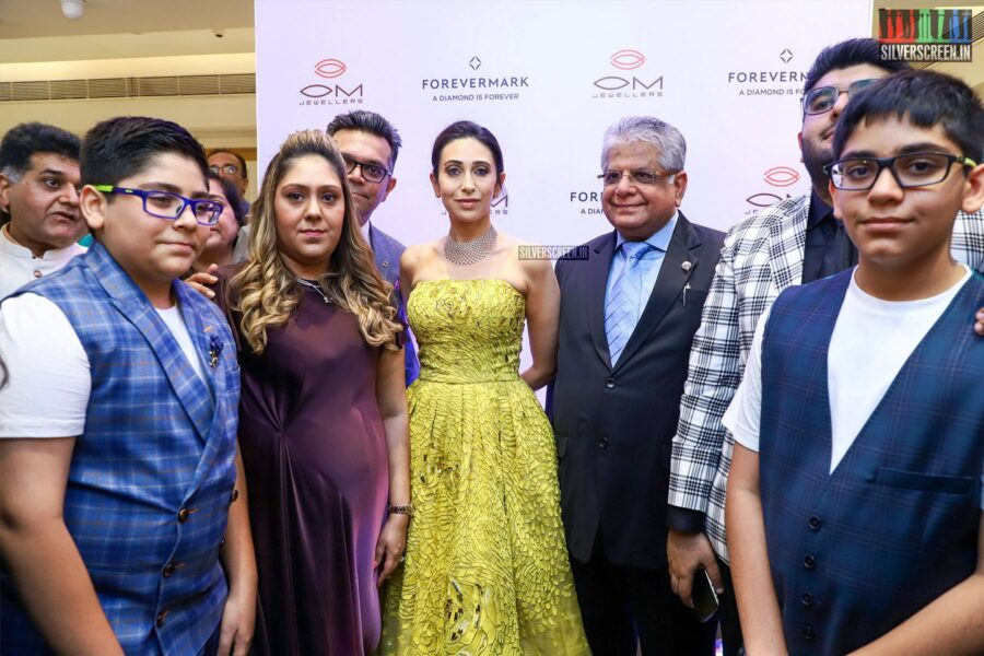 Karisma Kapoor At The Launch Of Forevermark Festive Collection At Om Jewellers