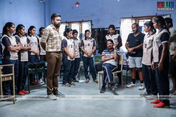 Kennedy Club Movie Stills Starring M Sasikumar, Bharathiraja