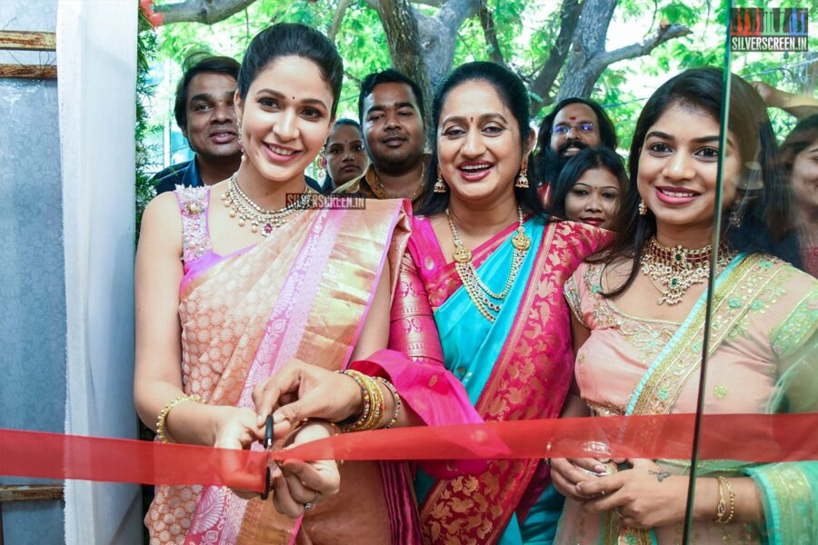 Lavanya Tripathi At Swaroopa Reddy's Boutique Launch