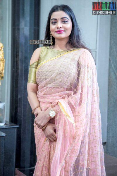 Anisha Xavier At The 'Thenampettai Mahesh' Movie Launch
