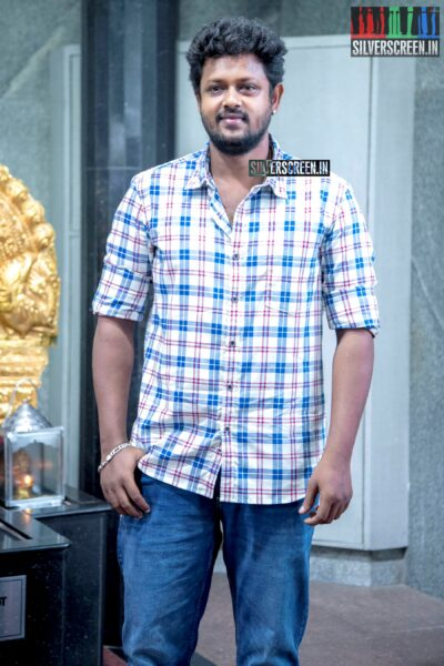 Mahesh At The 'Thenampettai Mahesh' Movie Launch