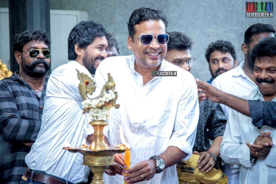 John Vijay At The 'Thenampettai Mahesh' Movie Launch