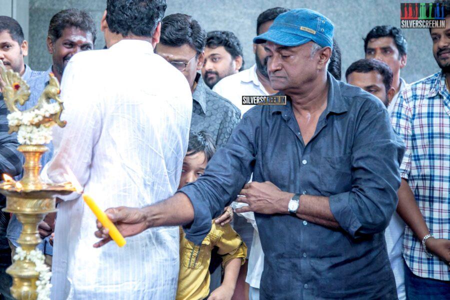 MS Bhaskar At The 'Thenampettai Mahesh' Movie Launch