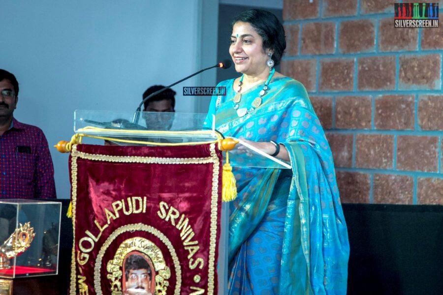 Suhasini Mani Ratnam At The Gollapudi Srinivas National Award 2019