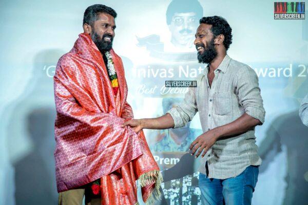 Vetrimaaran, C Premkumar At The Gollapudi Srinivas National Award 2019