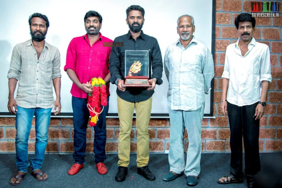 Bala, C Premkumar, Vijay Sethupathi, Mani Ratnam, Vetrimaaran At The Gollapudi Srinivas National Award 2019