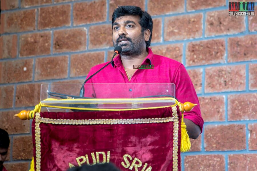 Vijay Sethupathi At The Gollapudi Srinivas National Award 2019