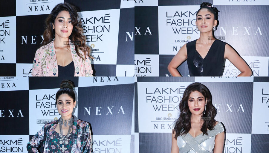 Celebrities At The Red Carpet Of Lakme Fashion Week 2019 - Day 1