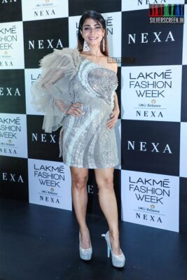 Tanisha At The Red Carpet Of Lakme Fashion Week 2019 - Day 1