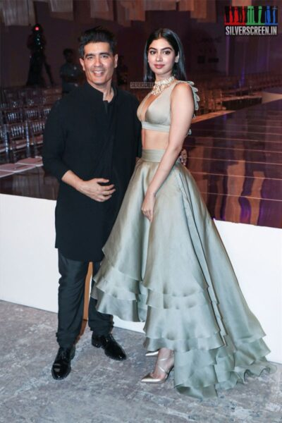 Khushi Kapoor At The Lakme Fashion Week 2019