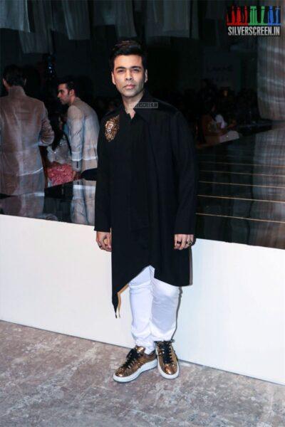 Karan Johar At The Lakme Fashion Week 2019