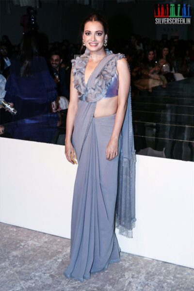Dia Mirza At The Lakme Fashion Week 2019