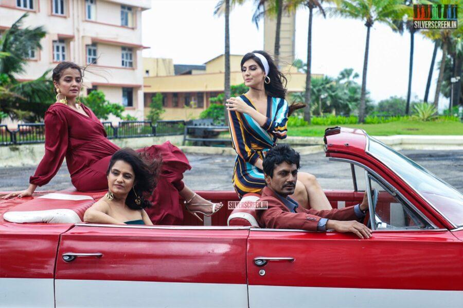 Nawazuddin Siddiqui, Surveen Chawla, Elnaaz Norouzi At A Photoshoot For Sacred Games season 2