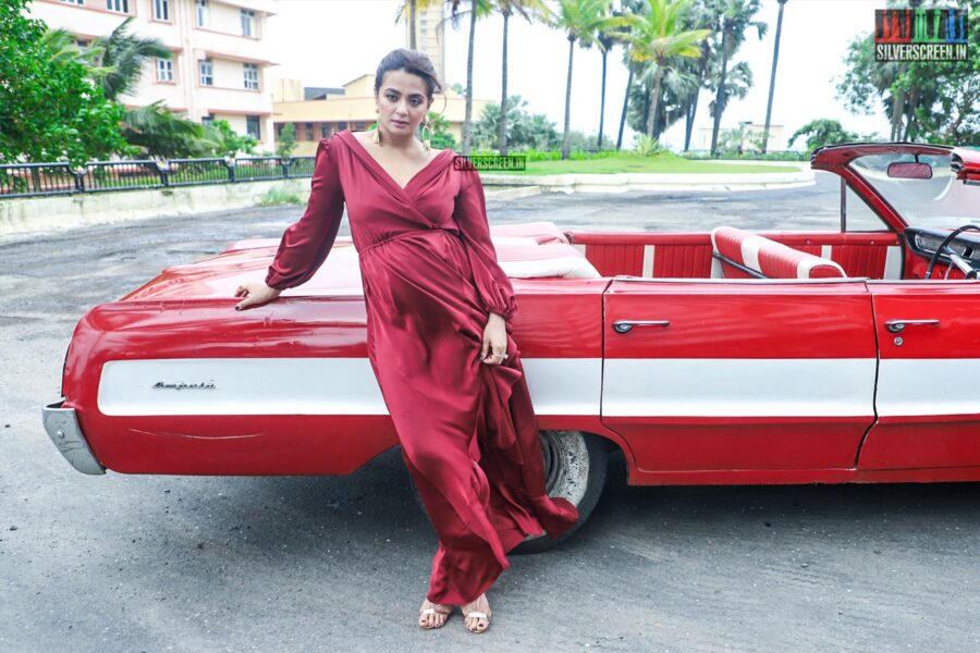 Surveen Chawla At A Photoshoot For Sacred Games season 2
