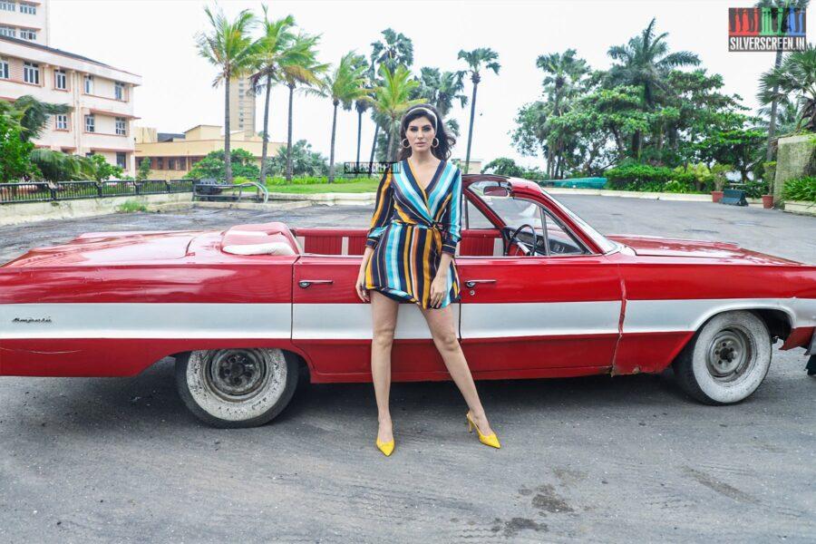 Elnaaz Norouzi At A Photoshoot For Sacred Games season 2