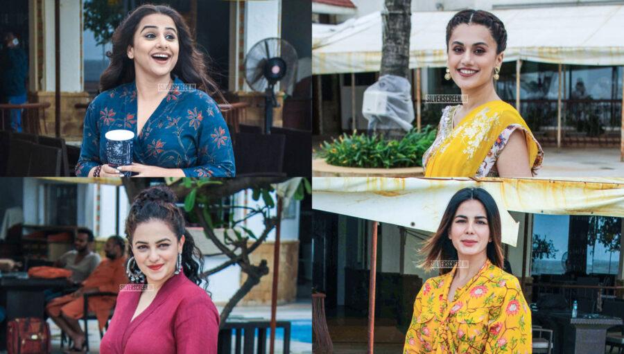 Nithya Menen, Vidya Balan, Taapsee Promote 'Mission Mangal'