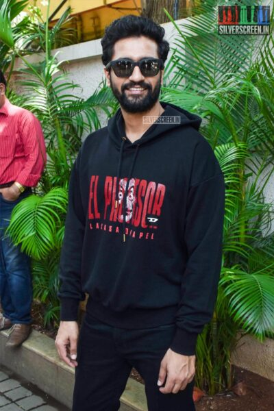 Vicky Kaushal At The Pachtaoge Success Meet