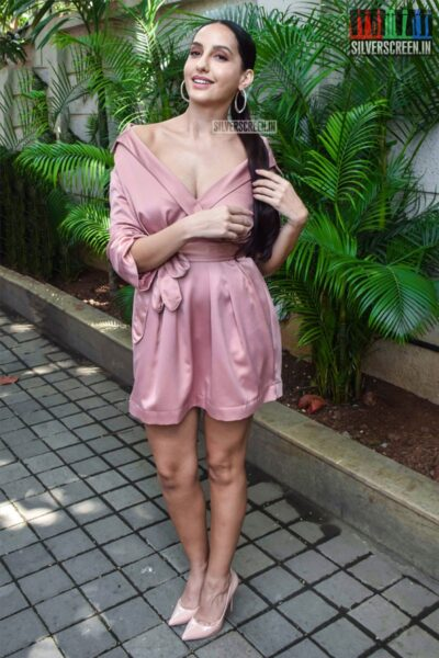 Nora Fatehi At The Pachtaoge Success Meet