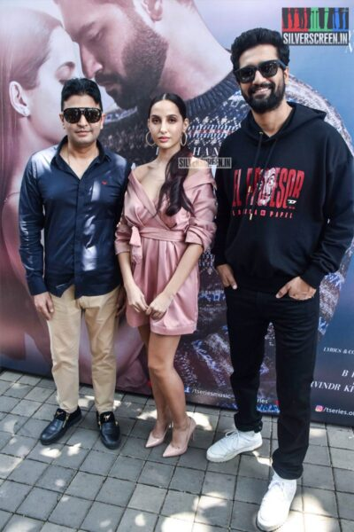 Nora Fatehi, Vicky Kaushal At The Pachtaoge Success Meet