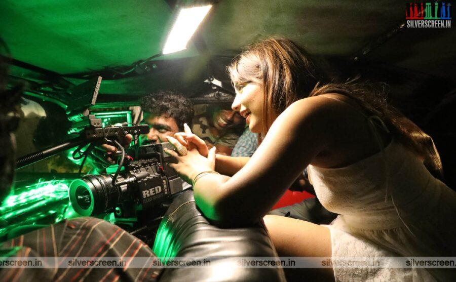 Pollatha Ulagin Bayangara Game Movie Stills Starring Aishwarya Dutta