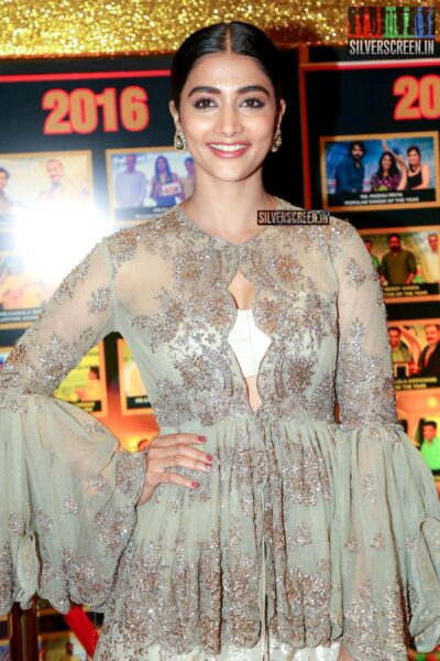 Pooja Hegde At The Sakshi Excellence Awards