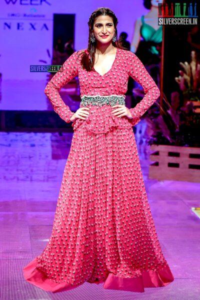 Aahana Kumra Walks The Ramp For Jayanti Reddy At The Lakme Fashion Week 2019 - Day 3