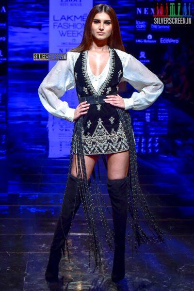 Tara Sutaria Walks The Ramp For Ritu Kumar At The Lakme Fashion Week 2019 - Day 3